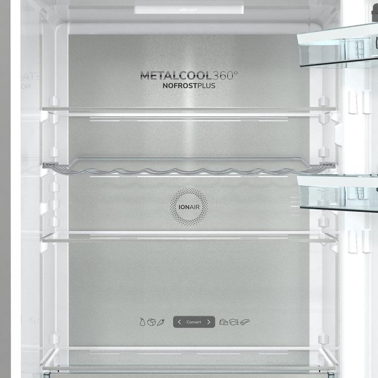 IonAir a systém chlazení MetalCool 360°