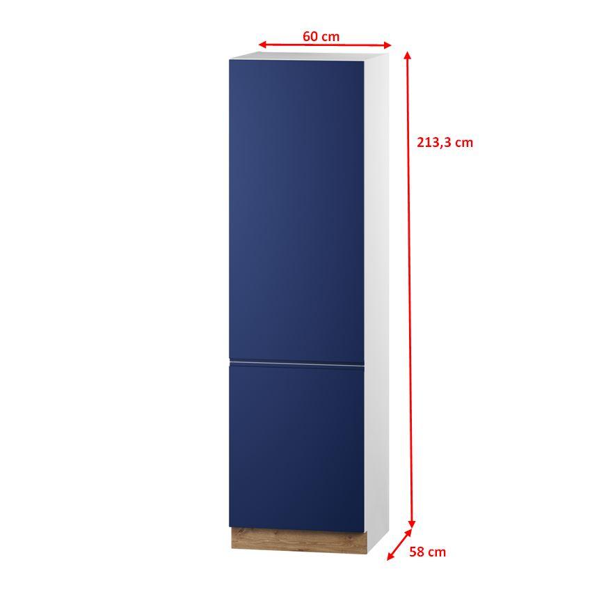 Potravinová skříň Minea - nákres s rozměry