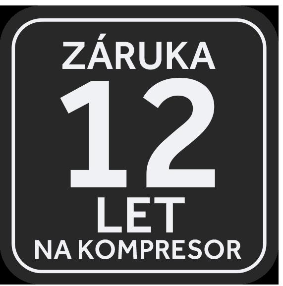 12letá záruka na kompresor