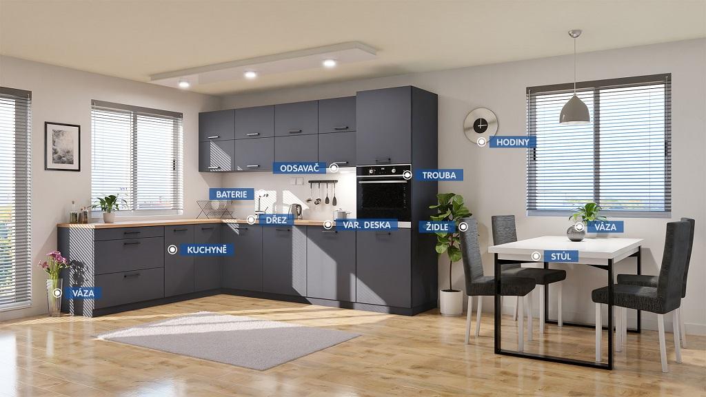 Kuchyně Lisa - Sestava