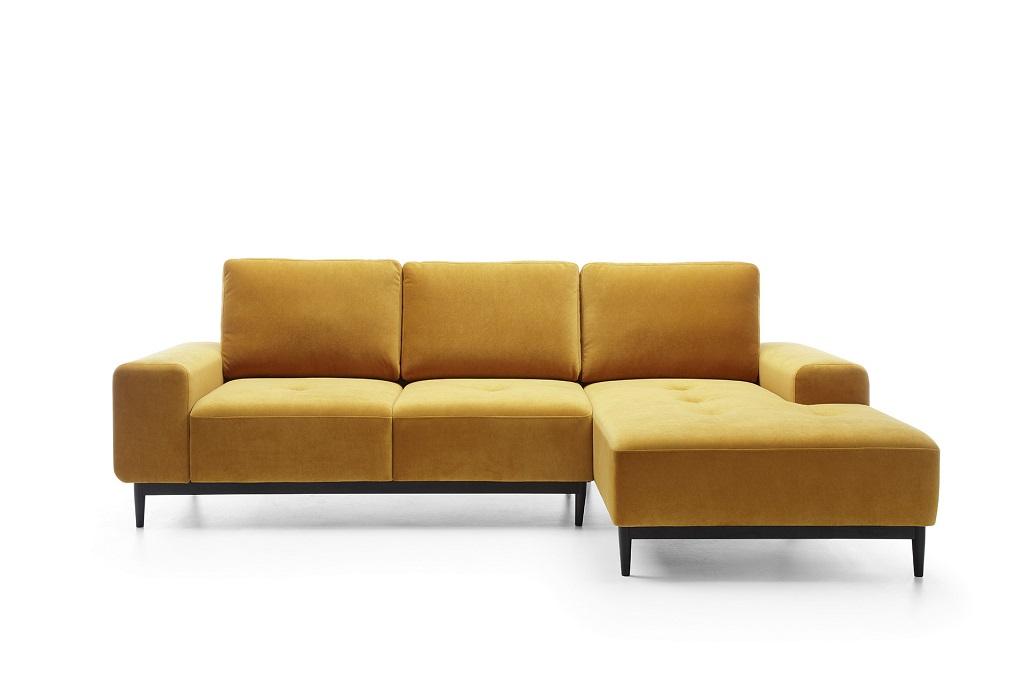 Žltá sedačka Forsa