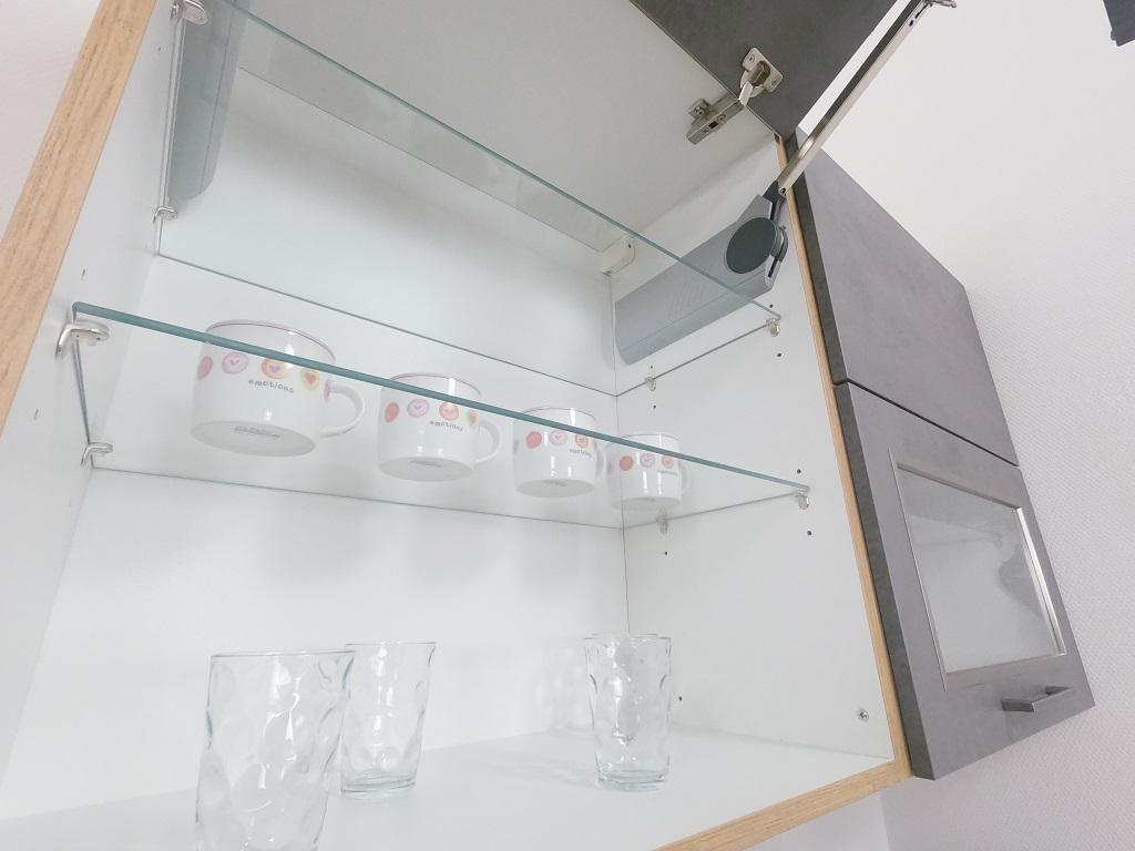 Kuchyně Birgit - detail systému Aventos