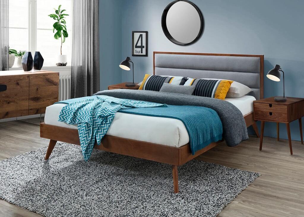 posteľ z masívu Olivia