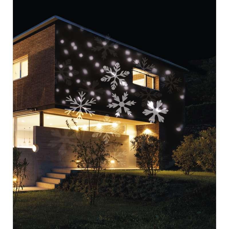 Vianočná projekcia na dom