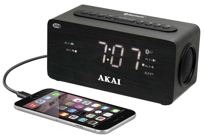 Rádiobudík s hodinami AKAI ACR-2993