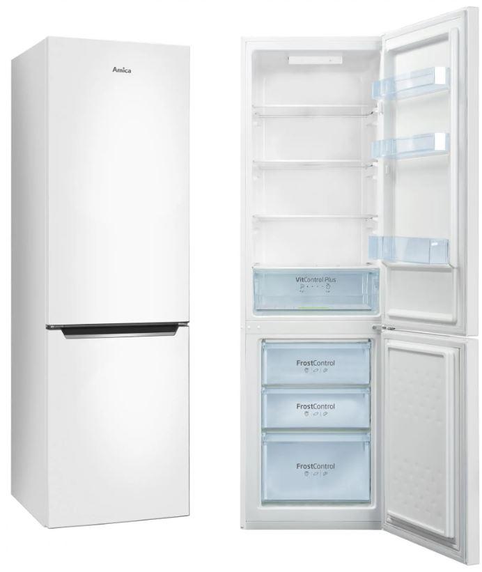 Kombinovaná chladnička s mrazničkou Amica VC 1752 AW
