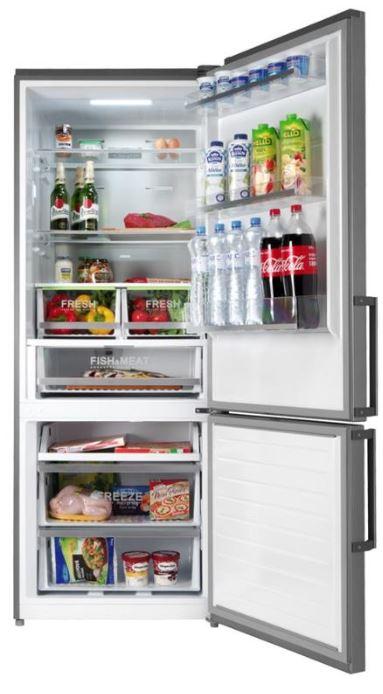 Chladnička s mrazničkou dole Concept LK5470SS
