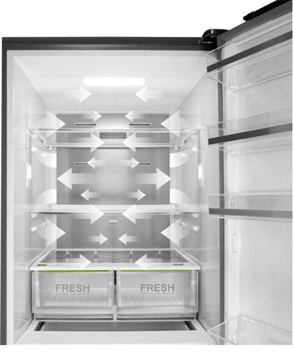 Kombinovaná chladnička Concept LK5470SS