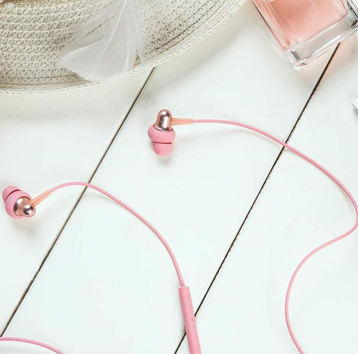 Slúchadlá s mikrofónom 1MORE Stylish In-Ear Headphones Pink
