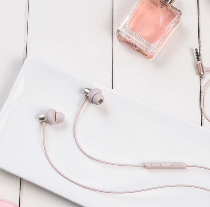 Štupľové slúchadlá 1MORE Stylish In-Ear Headphones Gold
