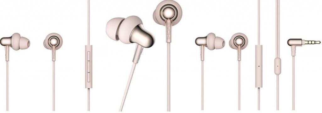 Slúchadlá 1MORE Stylish In-Ear Headphones Gold