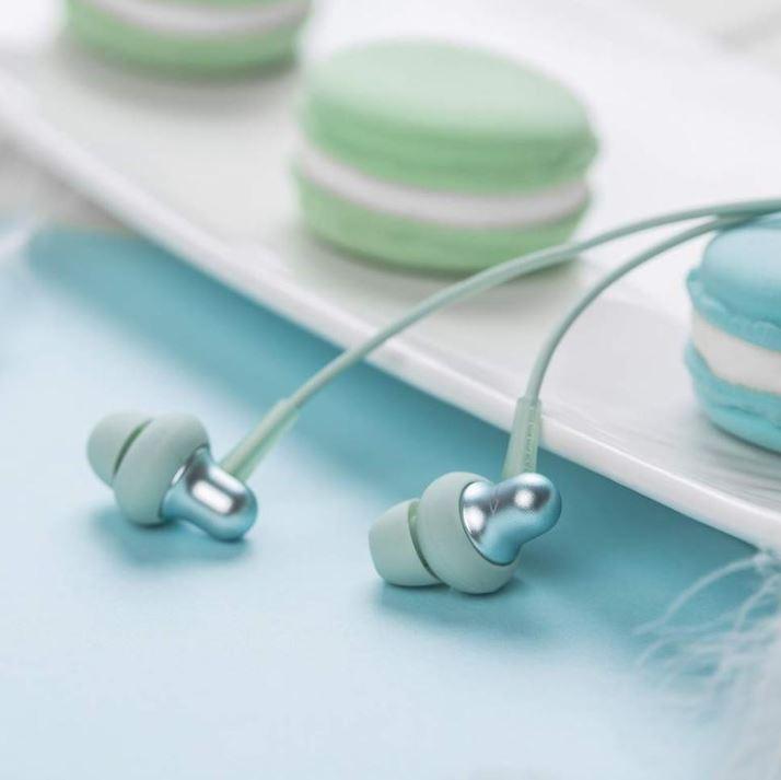 Štupľové slúchadlá 1MORE Stylish In-Ear Headphones Green