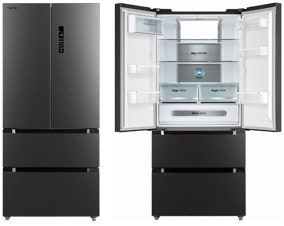 Americká chladnička Toshiba GR-RF532WE-PMJ