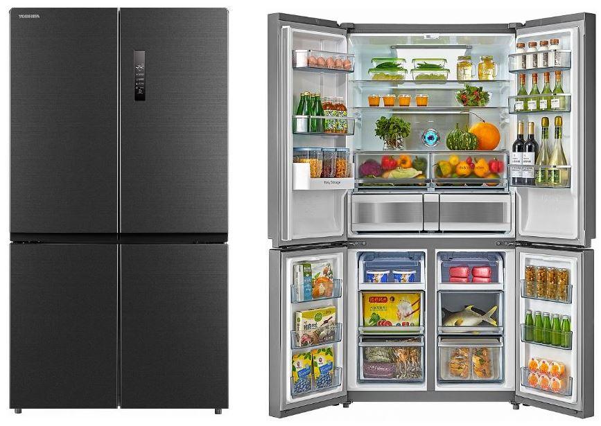 Americká chladnička Toshiba GR-RF646WE-PMS