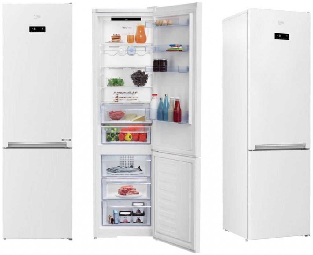 Kombinovaná chladnička s mrazničkou Beko RCNA406E60WN