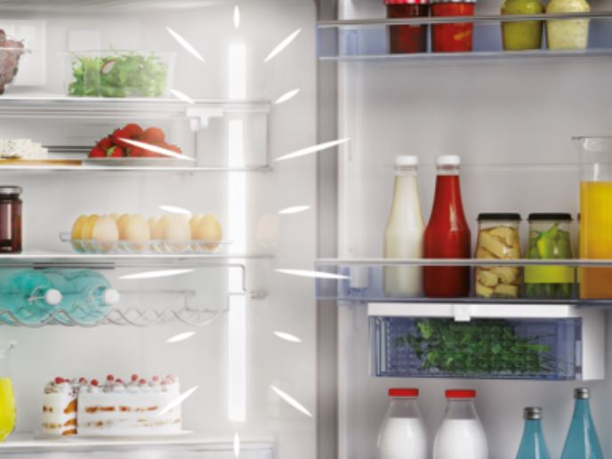 LED osvetlenie chladničky Beko RCNA406E60WN