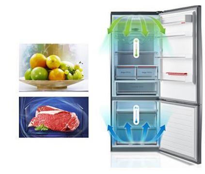 Kombinovaná chladnička s mrazničkou Toshiba GR-RB360WE-DMJ (06)