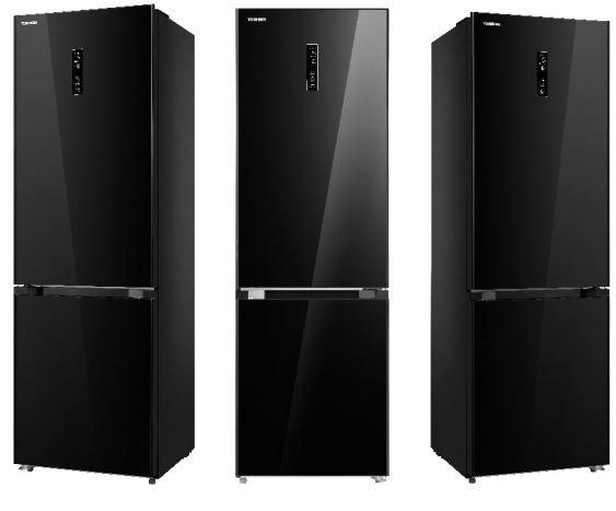 Čierna chladnička Toshiba GR-RB360WE-DGJ