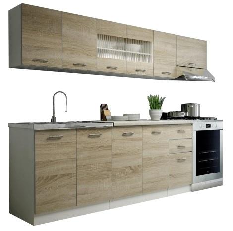 Rozmery sektorovej kuchyne Perla 260 cm