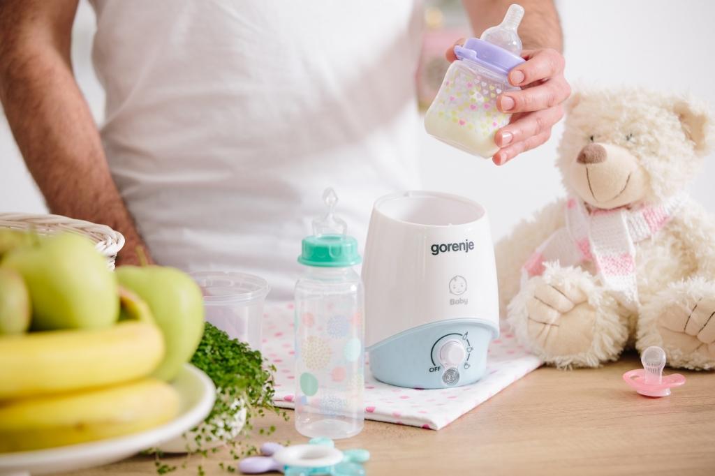 Ohrievač fliaš a detskej stravy Gorenje BW330BY