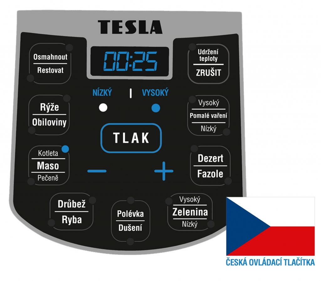 Multifunkčný hrniec Tesla EliteCook K50