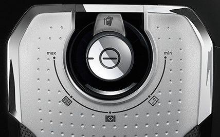 Ovládací gombík vysávača Bosch Cosyy´y ProSilence BGLS4530
