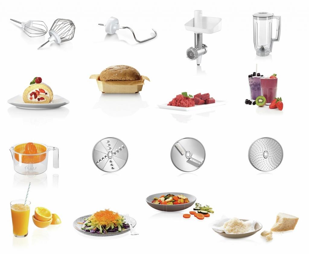 Príslušenstvo ku kuchynskému robotu Bosch MUM58258