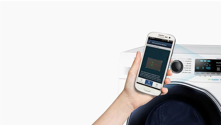 Smart práčka Samsung WD90J6A10AW/LE