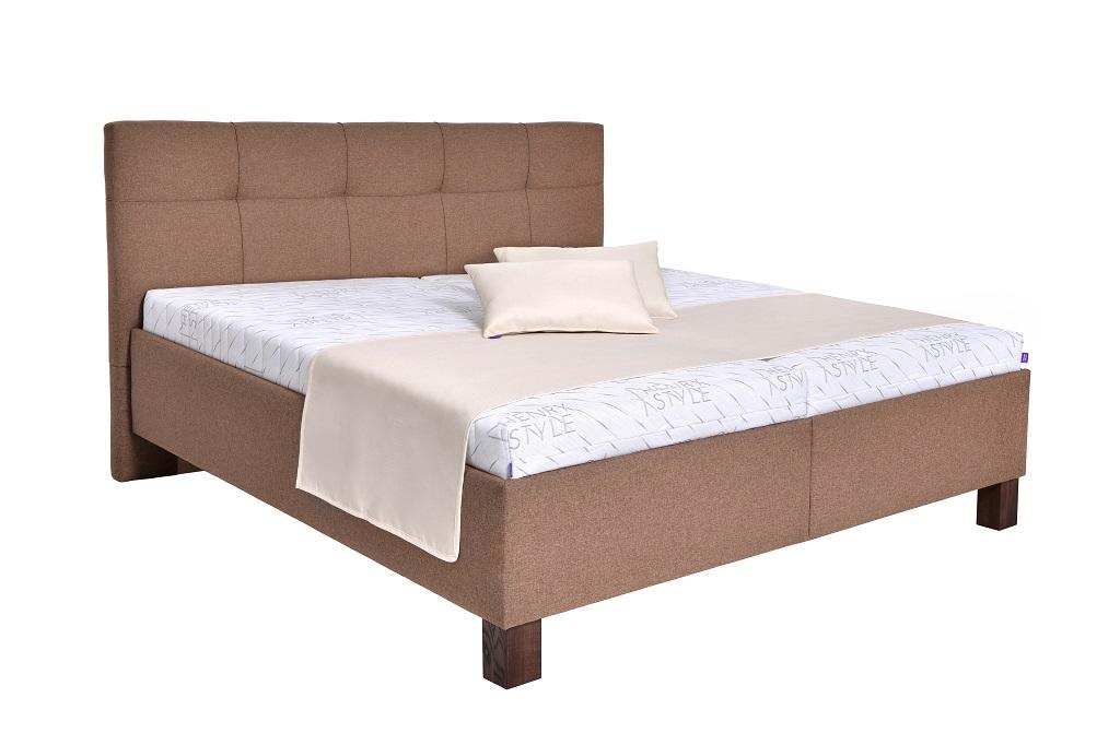 Čalouněná postel Mary v interiéru