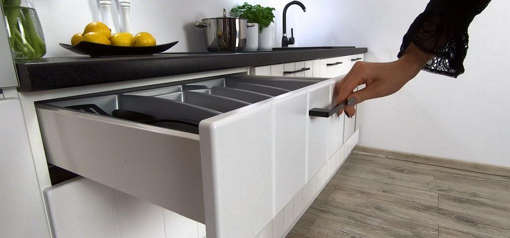 Kuchyně Grace - detail zásuvky