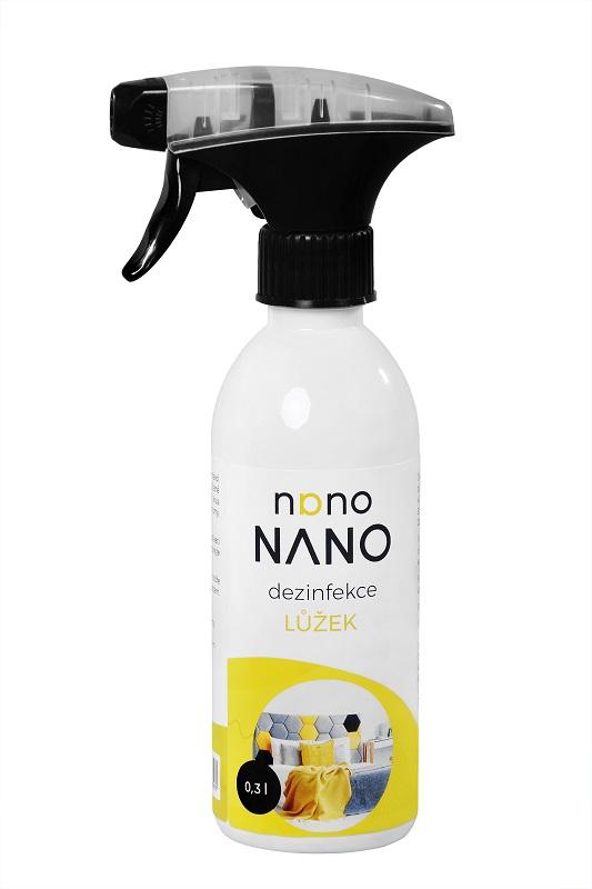 Nano prostředek k dezinfekci lůžek