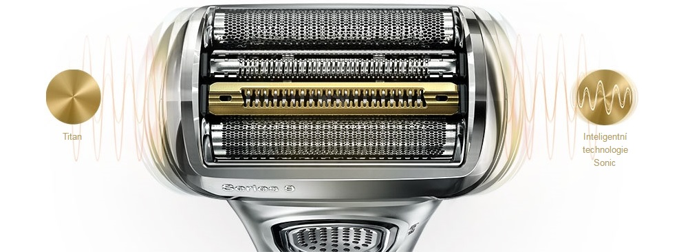 Holící strojek Braun Series 9 9390cc, Wet&Dry