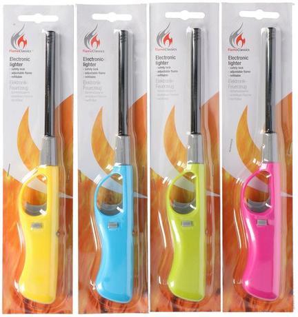 Plynový zapaľovač rôzne farby