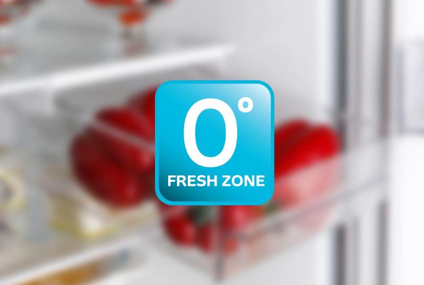 Fresh zóna v chladničke na udržanie čerstvosti potravín