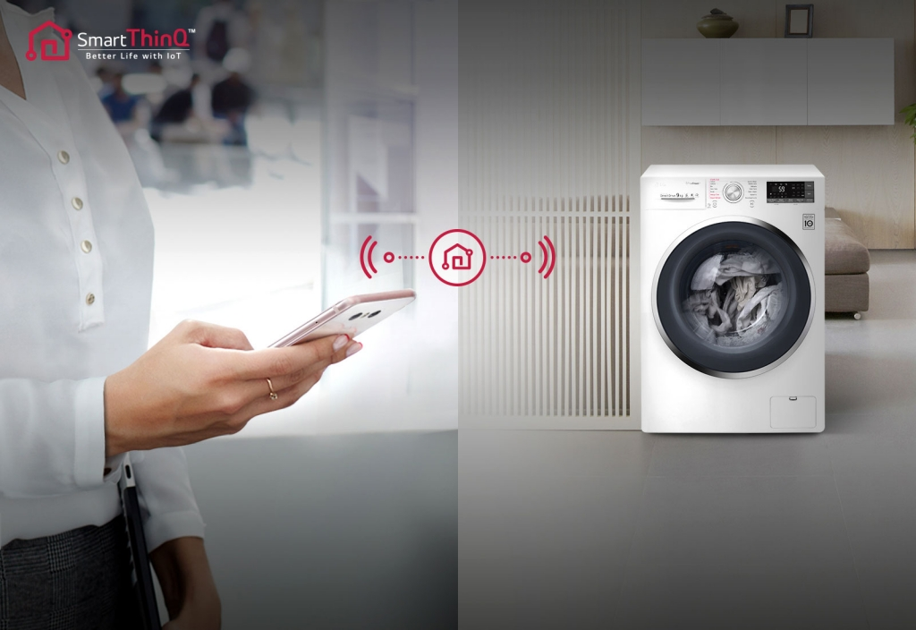 Smart práčka LG