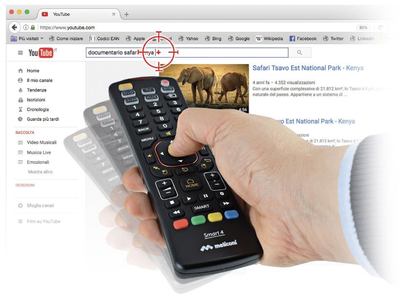 Univerzálny diaľkový ovládač Meliconi Smart 80200