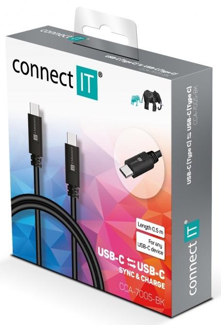 USB C kábel Connect IT