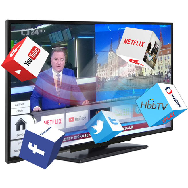 Smart televize Finlux 24FHD5760