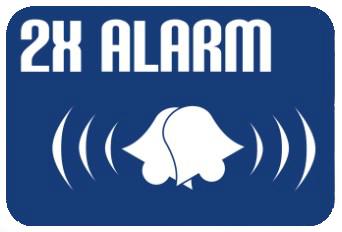 dva alarmy