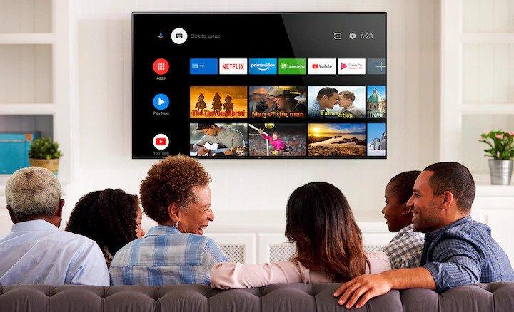 Smart televize Sony XH80