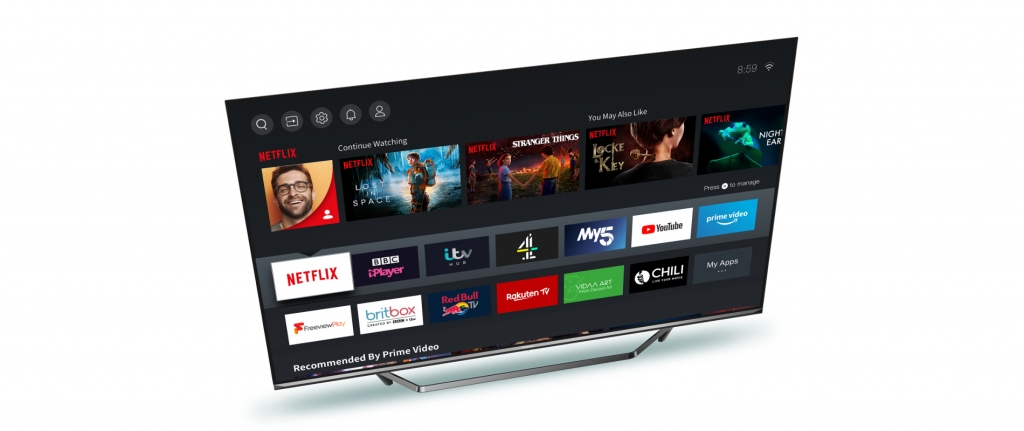 Smart televizor Hisense 55U7QF