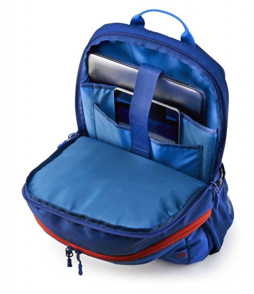 Batoh na notebook HP 15.6 Active Blue/Red Backpack