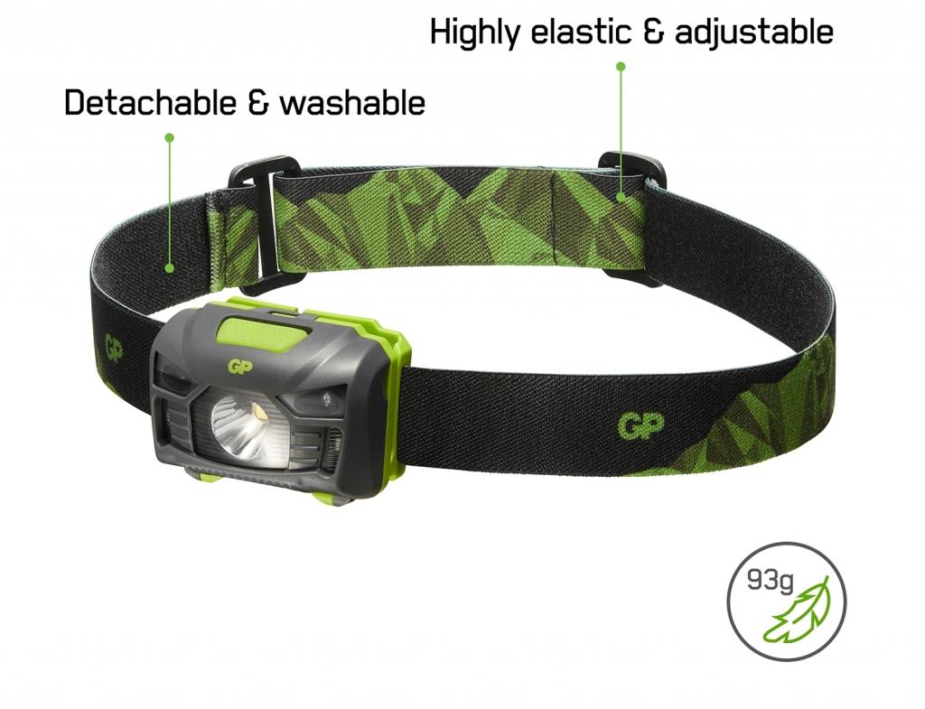 LED čelovka GP CH34
