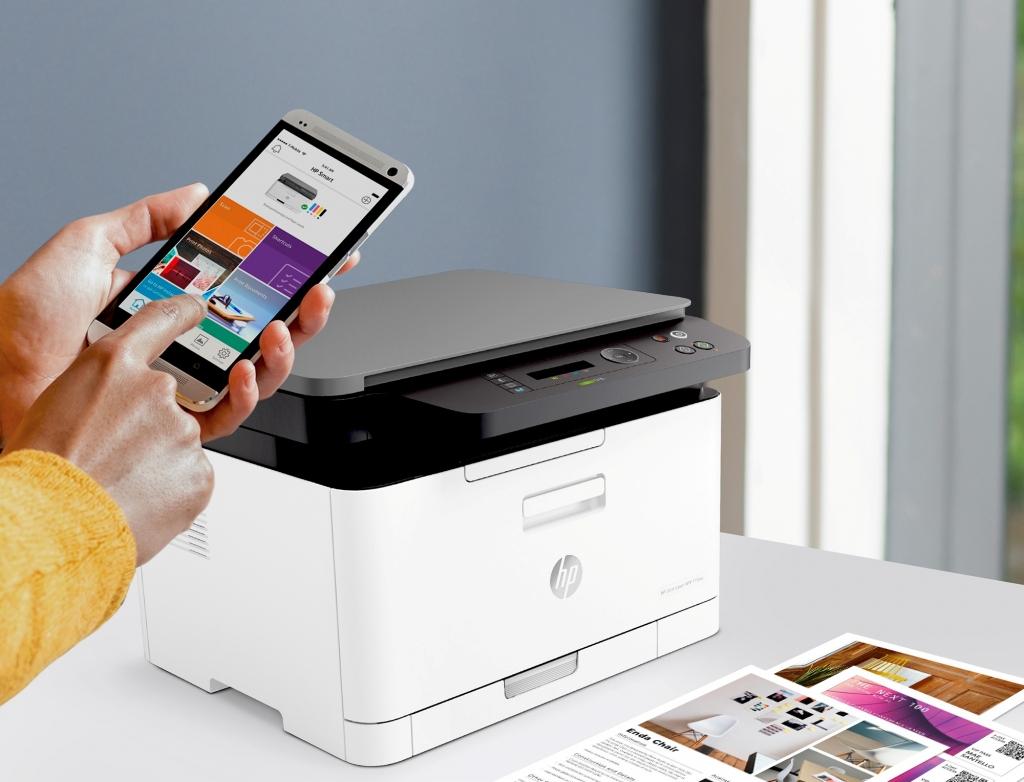 Multifunkční laserová tiskárna HP Color Laser MFP 178nw