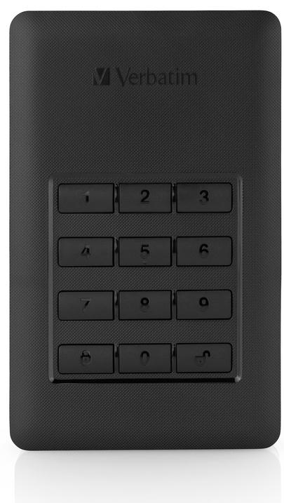 Harddisk Verbatim Secure HDD 1TB USB 3.1
