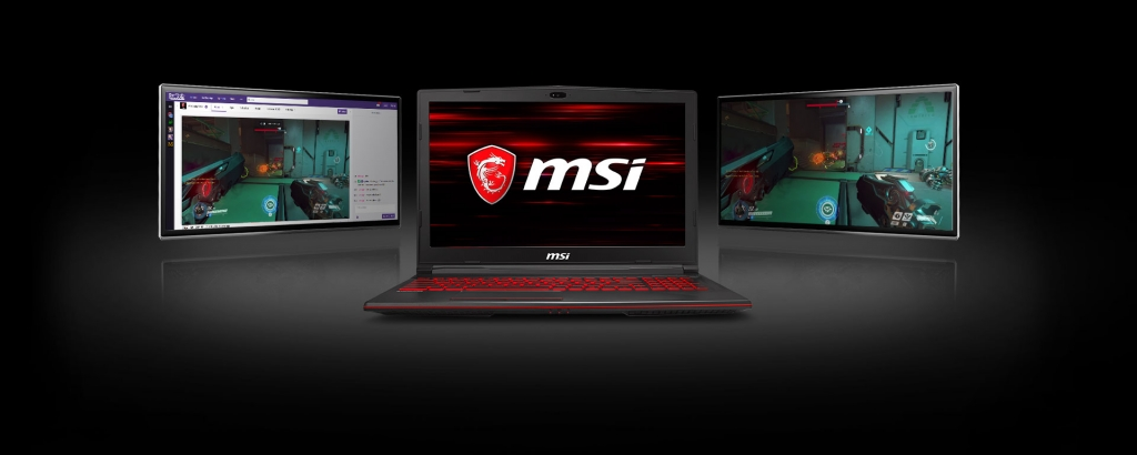 Herní notebook MSI GL63