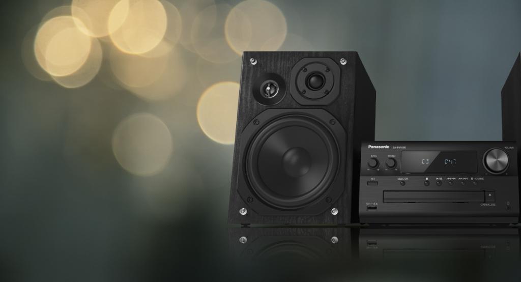 Hi-Fi veža Panasonic SC-PMX92EG-K
