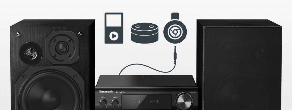 Mikro systém Panasonic SC-PMX92EG-K