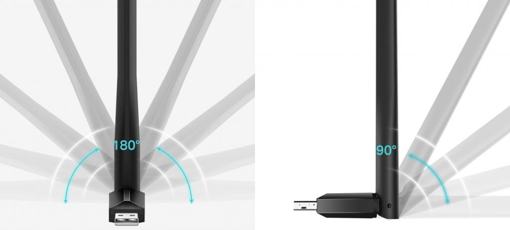 WiFi USB adaptér TP-Link Archer T2U Plus AC600