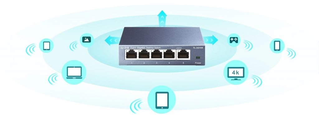Switch TP-Link TL-SG108E